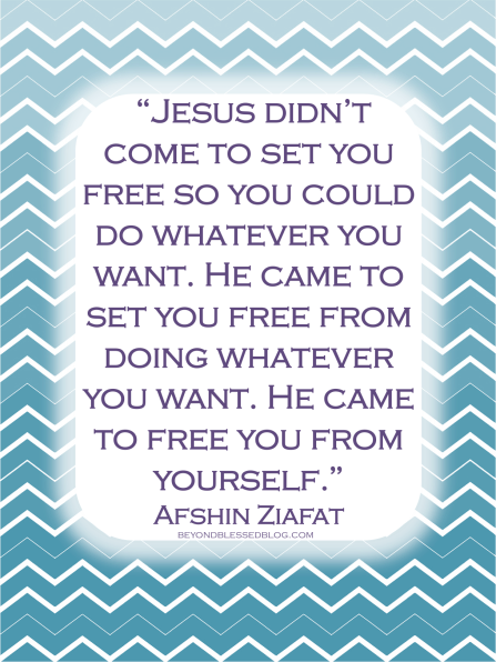 Afshin Ziafat Beyond Blessed Blog