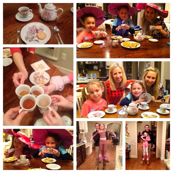 tea party, crumpets, hats, & all
