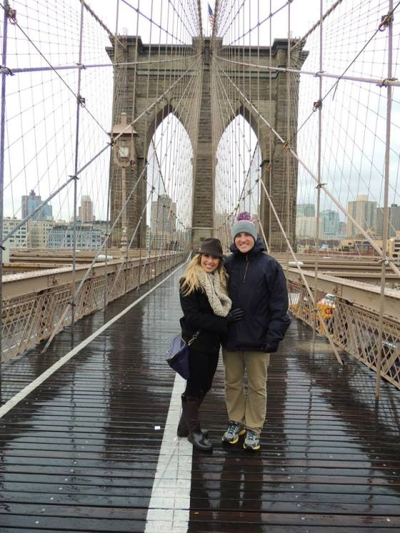 {Brooklyn Bridge in 2013}